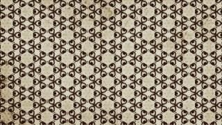 Brown Vintage Floral Seamless Pattern Wallpaper Design Template