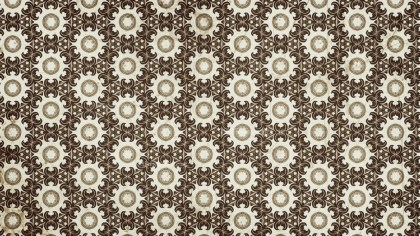 Brown Vintage Seamless Wallpaper Background