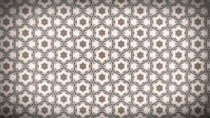 Brown Seamless Geometric Ornament Wallpaper Pattern Design Template