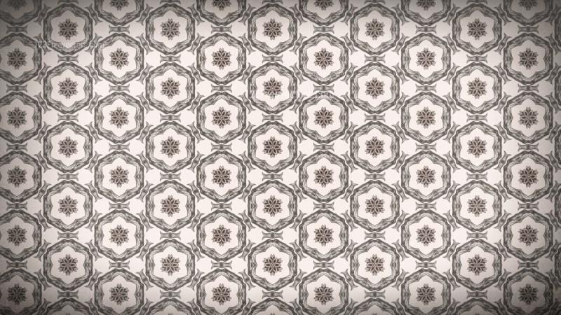 Brown Seamless Geometric Ornament Wallpaper Pattern Design Template