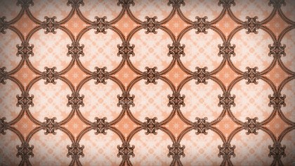 Brown Decorative Background Pattern