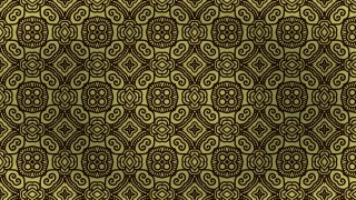 Brown and Gold Vintage Decorative Ornament Background Pattern