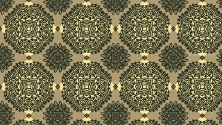 Vintage Ornamental Wallpaper Pattern
