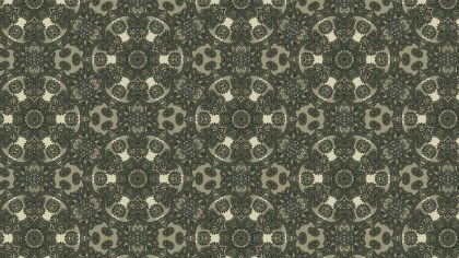 Brown and Green Vintage Floral Pattern Texture Background Template