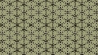 Brown and Green Seamless Floral Vintage Pattern Background Image