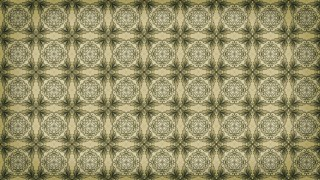 Brown and Green Vintage Seamless Wallpaper Background