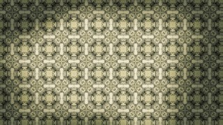 Brown and Green Vintage Seamless Wallpaper Pattern Template