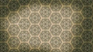 Brown and Green Vintage Decorative Floral Seamless Pattern Background Image