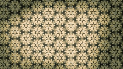 Brown and Green Vintage Floral Seamless Pattern Background Graphic