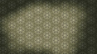 Brown and Green Vintage Decorative Floral Seamless Pattern Wallpaper Design