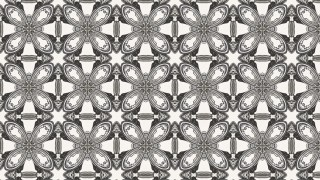 Brown and White Flower Background Pattern
