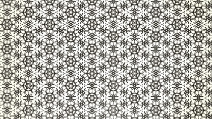 Brown and White Ornamental Vintage Background Pattern