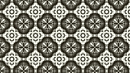 Geometric Seamless Ornament Pattern Background Image
