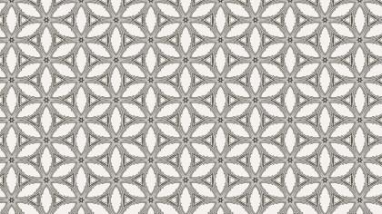 Geometric Ornament Pattern Wallpaper