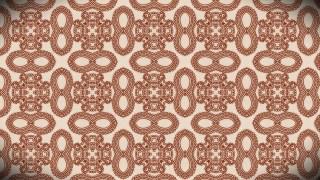 Copper Color Vintage Seamless Ornamental Pattern Wallpaper