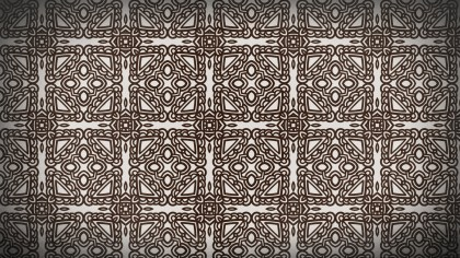 Dark Brown Seamless Ornament Background Pattern Image
