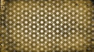 Dark Brown Vintage Ornamental Seamless Pattern Background Design