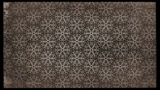 Dark Brown Vintage Floral Seamless Pattern Wallpaper Design Template