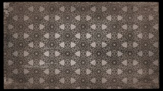 Dark Brown Vintage Flower Wallpaper Pattern