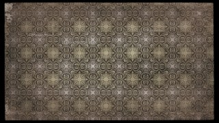 Dark Brown Vintage Floral Pattern Texture Background Template
