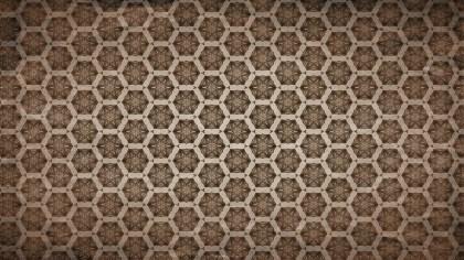 Dark Brown Vintage Seamless Ornament Wallpaper Pattern Design Template
