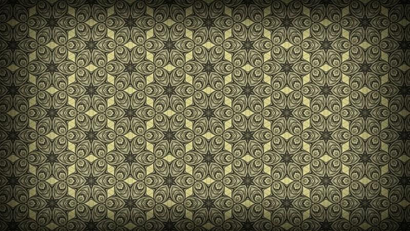 Dark Brown Vintage Seamless Wallpaper Background