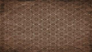 Dark Brown Vintage Floral Seamless Pattern Wallpaper Design Template