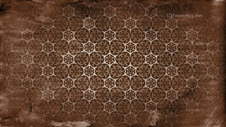 Dark Brown Vintage Ornamental Pattern Background