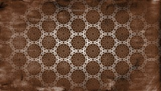 Dark Brown Vintage Ornamental Seamless Pattern Background Design