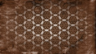Vintage Seamless Floral Pattern Background