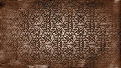 Dark Brown Vintage Ornament Background Pattern Image