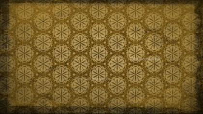 Vintage Floral Ornament Pattern Background Design Template