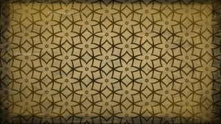Dark Brown Vintage Decorative Floral Pattern Wallpaper