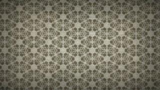 Dark Brown Ornamental Vintage Background Pattern