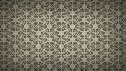 Dark Brown Ornamental Vintage Background Pattern