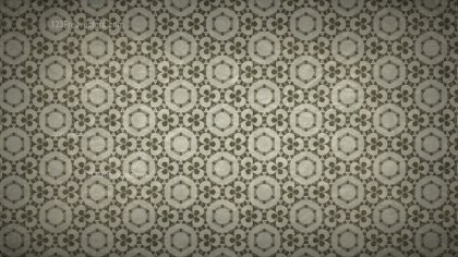 Dark Brown Vintage Decorative Floral Pattern Background