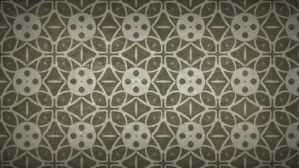 Dark Brown Vintage Ornamental Pattern Background