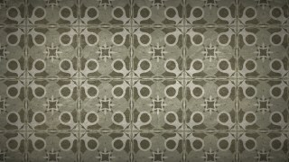 Dark Brown Vintage Seamless Ornamental Pattern Background