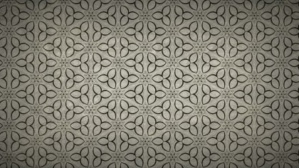 Dark Brown Vintage Seamless Ornament Background Pattern Graphic