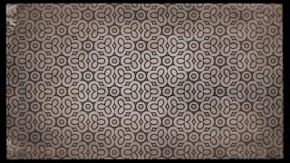 Dark Brown Vintage Ornament Wallpaper Pattern Design