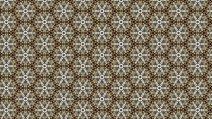 Vintage Flower Pattern Background