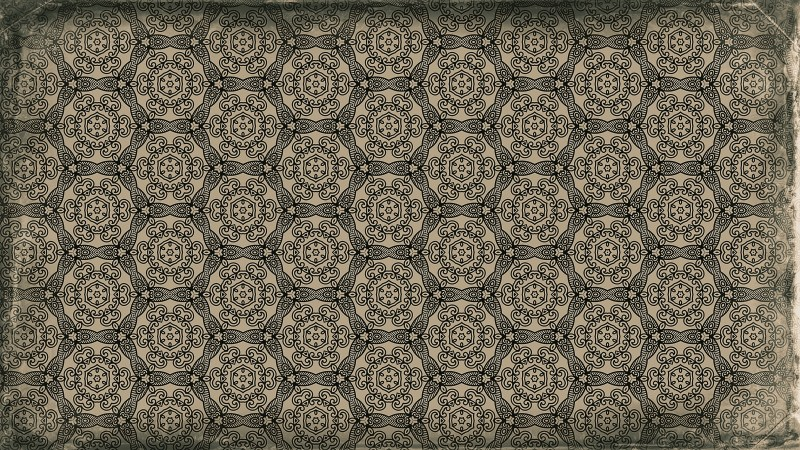 Dark Brown Vintage Decorative Ornament Background Pattern