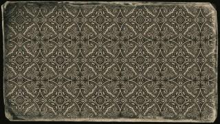 Dark Brown Vintage Decorative Ornament Wallpaper Pattern
