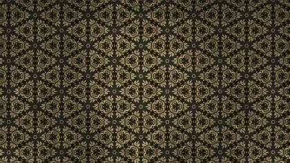 Dark Brown Vintage Decorative Ornament Background Pattern