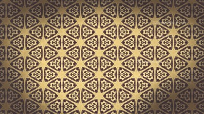 Dark Brown Vintage Ornament Background Pattern Image