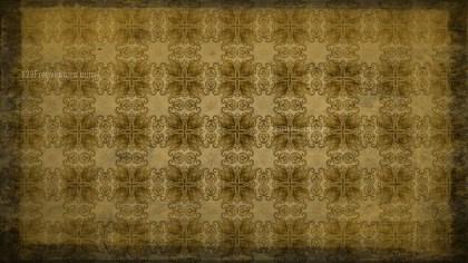 Dark Color Vintage Decorative Floral Pattern Wallpaper
