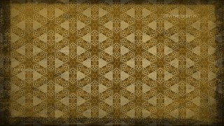 Dark Color Vintage Floral Pattern Wallpaper