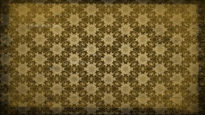 Dark Color Vintage Seamless Floral Wallpaper Pattern