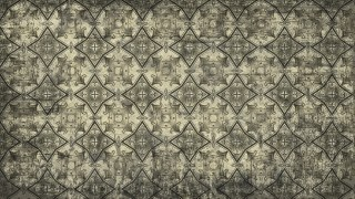Dark Color Vintage Decorative Ornament Wallpaper Pattern