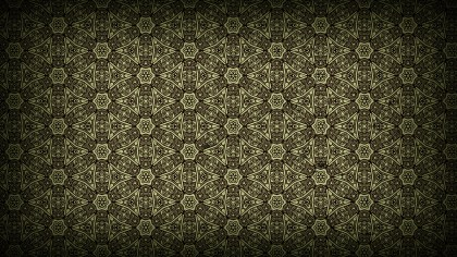 Dark Color Vintage Ornamental Pattern Background